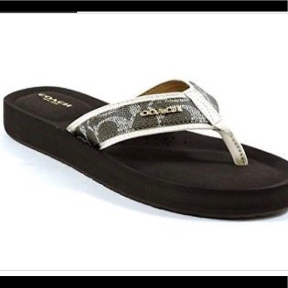 7d1aac23bb6d Coach Shoes - Coach Judy Flip Flop Thong Sandal